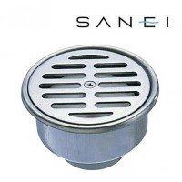 バス用品。 三栄水栓 SANEI ステンレスワントラップ H500-75X40 〈簡易梱包