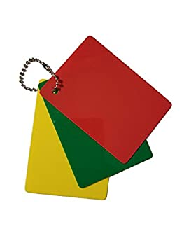 Merz67 LLC Referee Penalty Cards Delay  Green  Warning  Yellow  & Ejection  Red