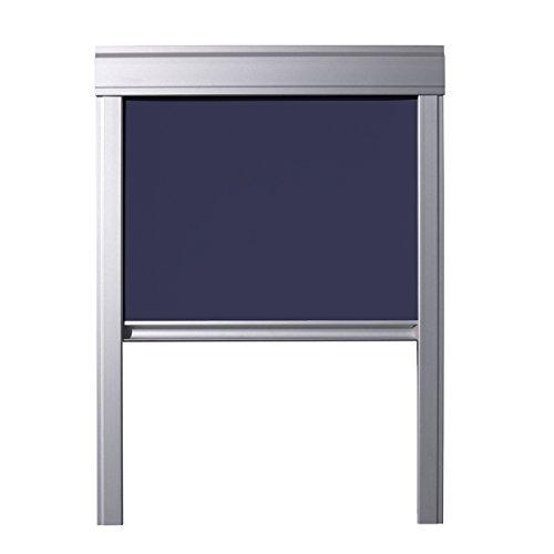 ITZALA Verdunkelungsrollo für VELUX Dachfenster, F06, FK06, Dunkelblau