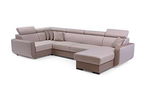 Canapé d'angle Tissu Luxe Design Confort
