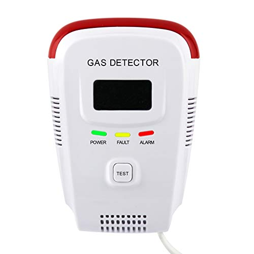Plug-in Natural Gas Detector,Propane / Methane Sensor Alarm Detector for Home, High Sensitivity,Easy-to-Use