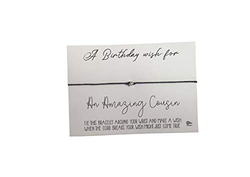 Dios Designs Simple Wish Bracelet - A Birthday Wish for an...