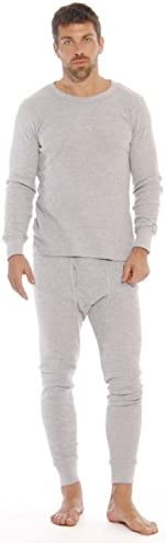 At The Buzzer Thermal Underwear Set for Men 95962 Grey XL product image