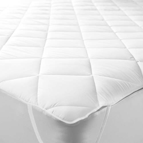 Bedtime Comforts Ltd 2' 6' SHORTY BED Small Single QUILTED MATTRESS TOPPER (Elasticated) VARIOUS SIZES Shorty bed small single quilt mattress topper/protector (30' x 75')