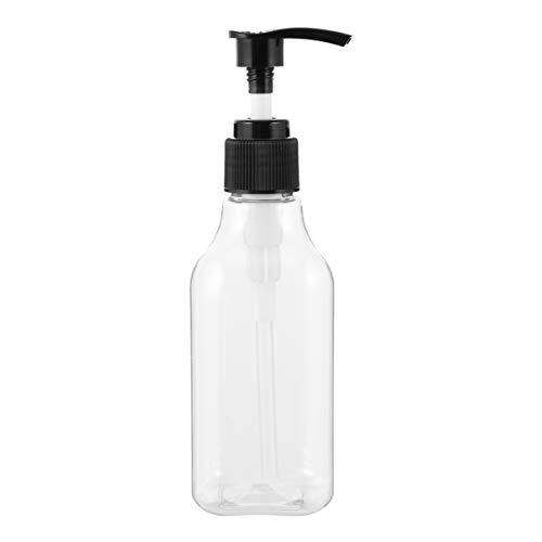 FRCOLOR 6 Pcs Vide en Plastique Pompe Bouteilles en Plastique Pompe Bouteille Distributeur pour Shampooing Lotion Et Huile de Massage (Assortiment de Couleurs)