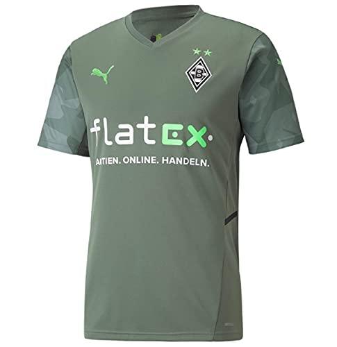 BMG Away Shirt Replica w sponsor. Green, XXL