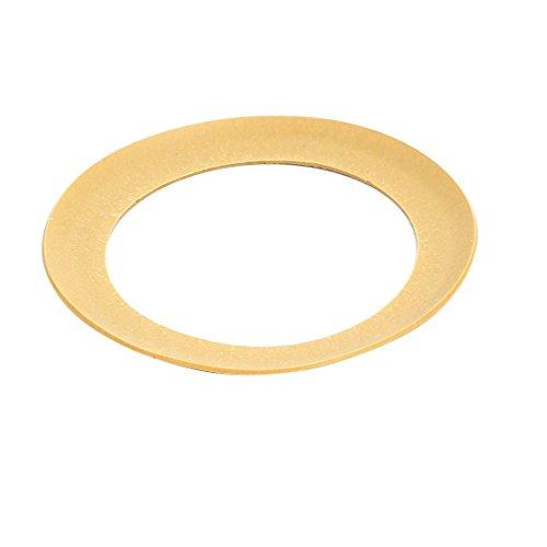 sourcing map Luftkompressor Kompression Plastik Kolben Ring Kolbenringe 68mmx48mmx0,8mm gelb de