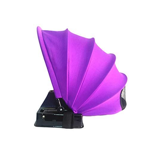 Lvguang Tienda de Playa Pop-Up para 1 Persona Plegable Tienda Sun Shelter Sombrilla Anti-Ultravioleta Radiación Mini Parasoles (Morado, 48 * 51 * 48cm)