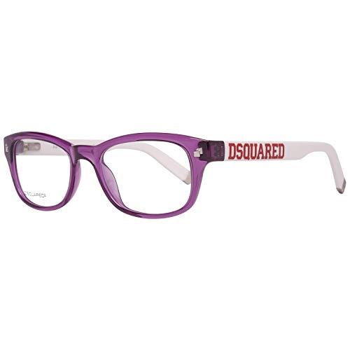 DSQUARED2 D Squared Montatura DQ500651 (51 mm) Viola/Bianco