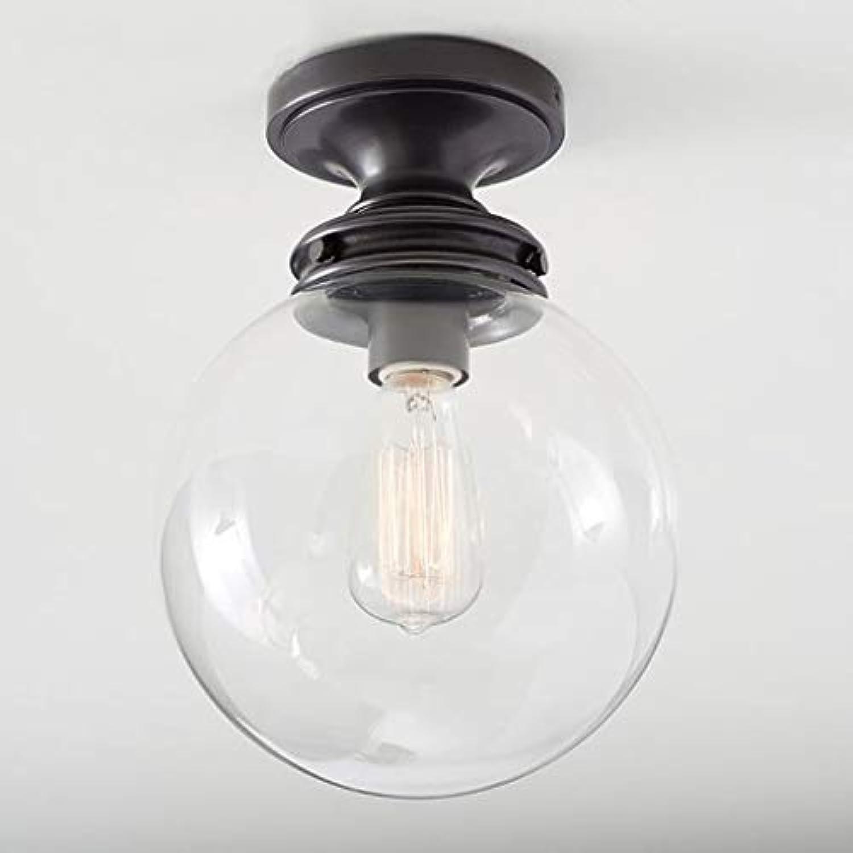 YLCJ Pendelleuchte aus Glasstein im nordischen Stil aus weiem Glas Pendelleuchte aus Stein Pendelleuchte aus Metall für Schlafzimmer Balkon Gang Flur Küche Azi