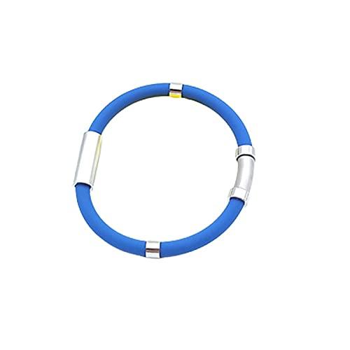 Pulsera de equilibrio de iones atléticos, pulsera de terapia de campo magnético, protección antiestática y contra radiación, pulsera de iones negativos,
