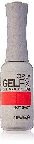 neon coral gel polish - 1