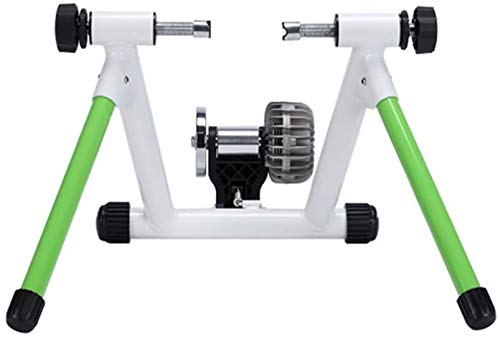 VictorySport - Entrenador inteligente para bicicletas de interior, entrenador de ejercicios de resistencia a los fluidos, soporte estacionario para bicicleta con reducción de ruido silencioso, compat