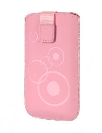 Gütersloher shopkeeper étui de protection pour nokia lumia 530 dual sim housse de protection rose/motif cercles (m1)