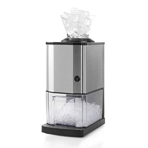 SCSBZ Machine à glaçons- Machine à glaçons de comptoir Machine Portable & Compact Électrique Haute Efficacité Express Opération Clair Panneau de Contrôle Opération Machine à Glaçons Mini Cube