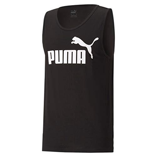 PUMA ESS Tank Camiseta de Tirantes, Hombre, Puma Black, S