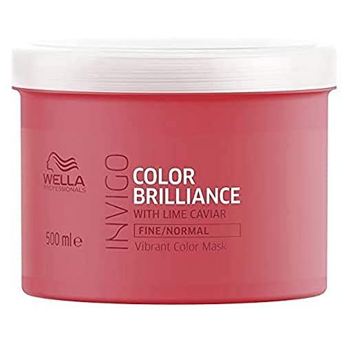 Wella Brilliance Mask Fine/Normal Hair 500 ml
