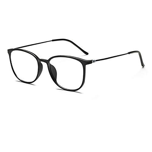 ZXY Blau Lichtundurchlässige Brille Rahmen, Anti-Glare Anti-Glare-Bildschirm Blaulichtfilter PC Gläser,B