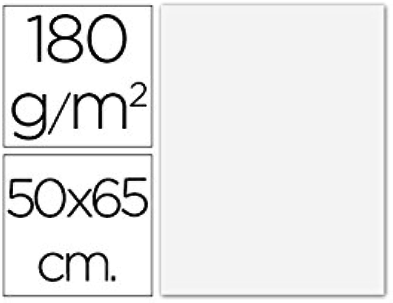 PAQ 125 CARTULINAS 50X65 WeißA IRIS 185 G. B00PDR9S3A | Mode-Muster