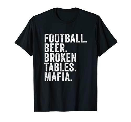 Rechnungen Fußball-Mafia, Buffalo New York Sportfan T-Shirt