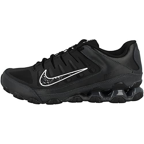 Nike Low Reax 8 TR Mesh - Zapatillas deportivas para hombre, Black Black Anthracite White 621716 031, 42 EU