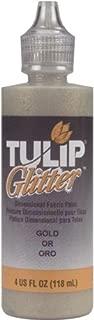 Tulip Dimensional Fabric Paint 4oz Glitter Gold