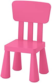IKEA Children's Chair, Indoor/Outdoor, Pink