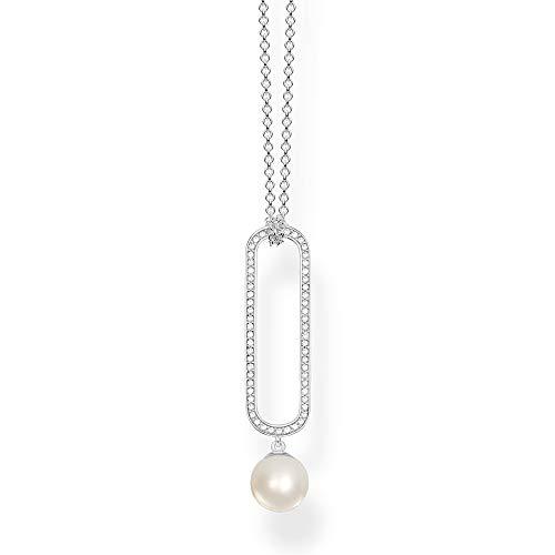 Thomas Sabo Damen-Perlenkette 925 Sterlingsilber KE1904-167-14-L55v