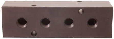 It is very popular MM-10 Aluminum Choice Single-Sided Ports Manifold 1 NPT NP 3 8 4