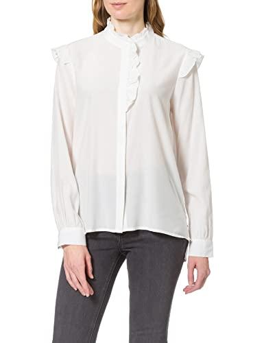 Only Onlelva LS Shirt CC Wvn Blusas, Cloud Dancer, S para Mujer