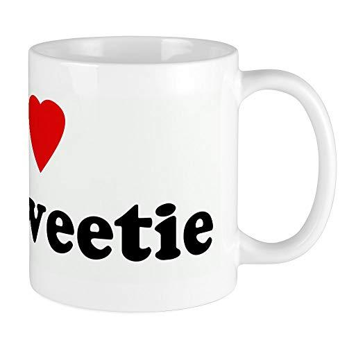 CafePress I Love My Sweetie Mug Unique Coffee Mug, Coffee Cup
