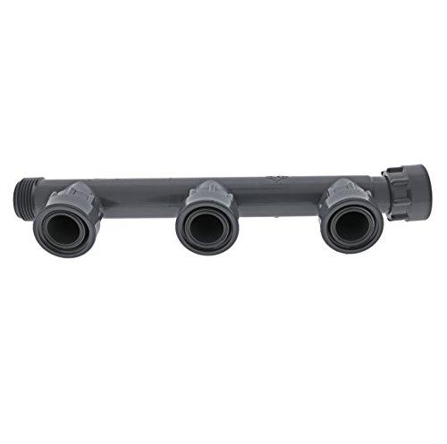 Dura 301-020-3 Multiport Triple Swivel Tee for Sprinkler Manifold
