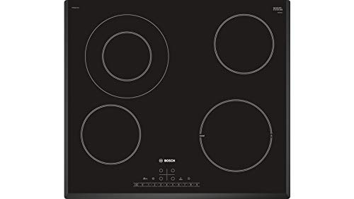 Bosch Serie 6 PKF651FP1E kookplaat Zwart Ingebouwd Keramisch 4 zone(s)