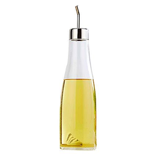 Olivenölspender, Essig und Ausgießersaucenflasche für die Küche