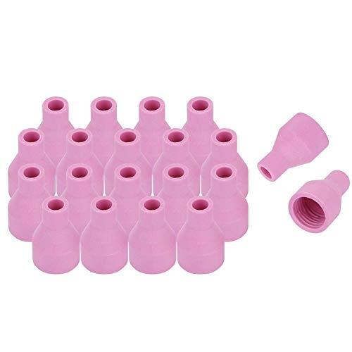 Preisvergleich Produktbild 20 stücke Düsenschalen Keramik Ideal Ersatz Zubehör für QQ150A WIG Schweißbrenner