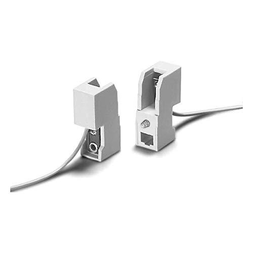 Fassung R7s Halogenstab alle Wattagen zum Aufschrauben mit Kabel Halter Lampe
