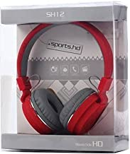 Hoatzin Buy Thunder Beat Sound Headphone with Isolation Bluetooth Headset Red