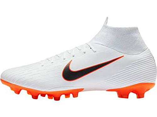 Nike Men's Footbal Shoes, Black Black MTLC Vivid Gold 077,...