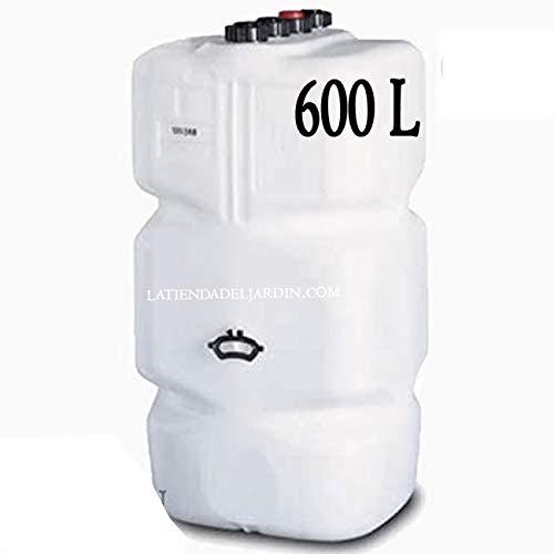 Suinga DEPOSITO GASOLEO GASOLINA GASOIL 600 LITROS HOMOLOGADO. Largo 74 cm, Ancho 74 cm, Alto 135 cm
