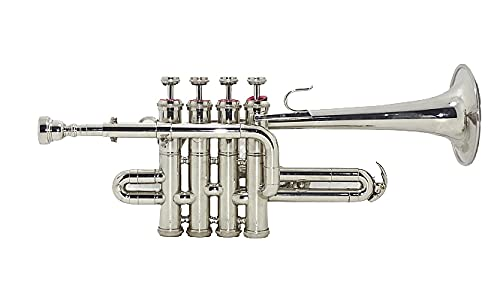 SHREYAS PICCOLO TRUMPET WITH FREE CASE AND MOUTHPIECE