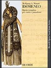 IDOMENEO, K366 (Ricordi Opera Vocal Score Series)