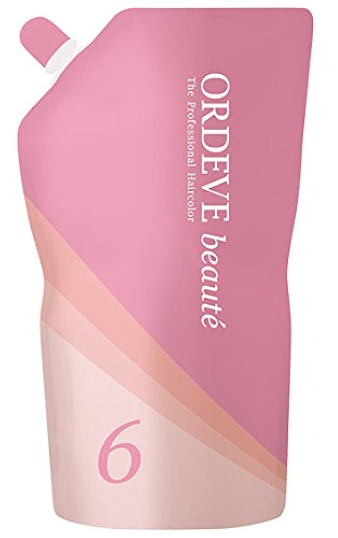 目を覚ます着実にラベORDEVE beaute(オルディーブ ボーテ) ヘアカラー 第2剤 OX(オキシダン) 6% 1000ml