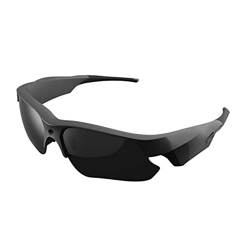 Sunglasses Camera, KAMRE Full HD 1080P Mini Video Camera with UV Protection Polarized Lens, A