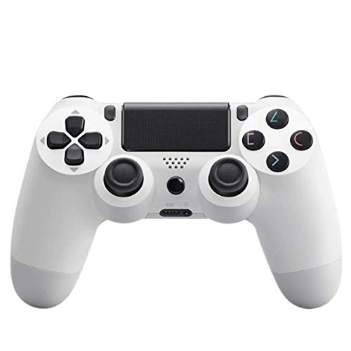 Tek Styz PRO Wireless Controller Works for Jabra Elite Active 65t with 1,000mAh Battery/Built-in Speaker/Gyro/Motor Remote Bluetooth Slim Gamepad (White)