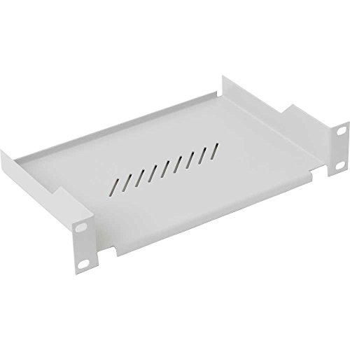 Triton RAC-UP-X01-C1 25,4 cm (10 Zoll) Fachboden, 1 HE Einbauhöhe (RAL 7035), Weiß