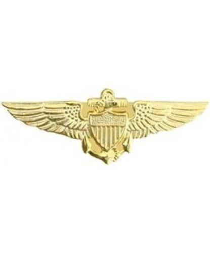 HMC Navy Pilot Wings Small Pin ,Gold ,X-Small
