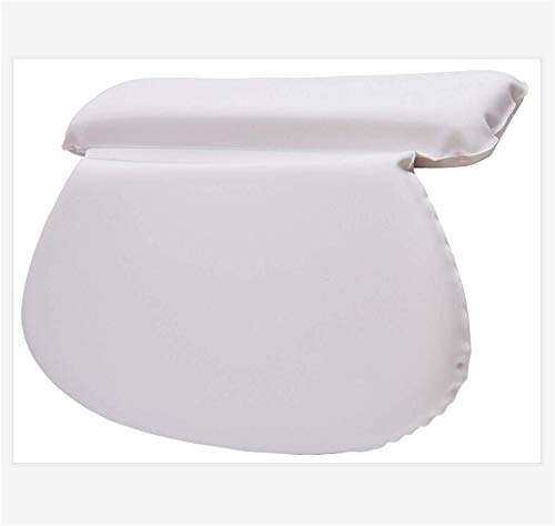 GCFBCL Bath Pillow – Non Slip, Bathtub Spa Cushion for Neck, Shoulder and Head Support,This Spa Cushion Has 7 Extra Large Suction Cups to Guarantee The Best Relaxing Experience
