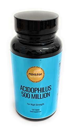 Acidophilus 500 Million | 120 Tablets