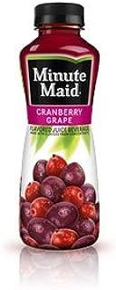 Minute Maid Cranberry Grape Bottles 12 oz Plastic Bottles - Pack of 24