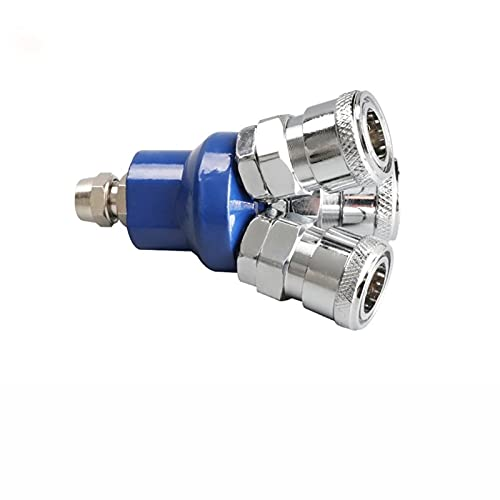 Mn-tube, Conector neumático de 1 UNID Conector rápido Conexión rápida Conexión rápida CAMISETA REDONDA REDONDA REDONDA COMPRESOR DE DOS VÍAS Tool Accesorios de compresor de aire ( tamaño : R )
